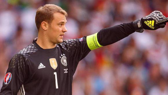 Manuel Neuer ha quedado al margen de la selección alemana por culpa de una severa lesión en el pie. A pesar de tener una larga inactividad, se ve en el arco en el Mundial Rusia 2018. (Foto: AFP)