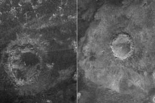 Cráteres en Titán revelarían antiguos ecosistemas congelados