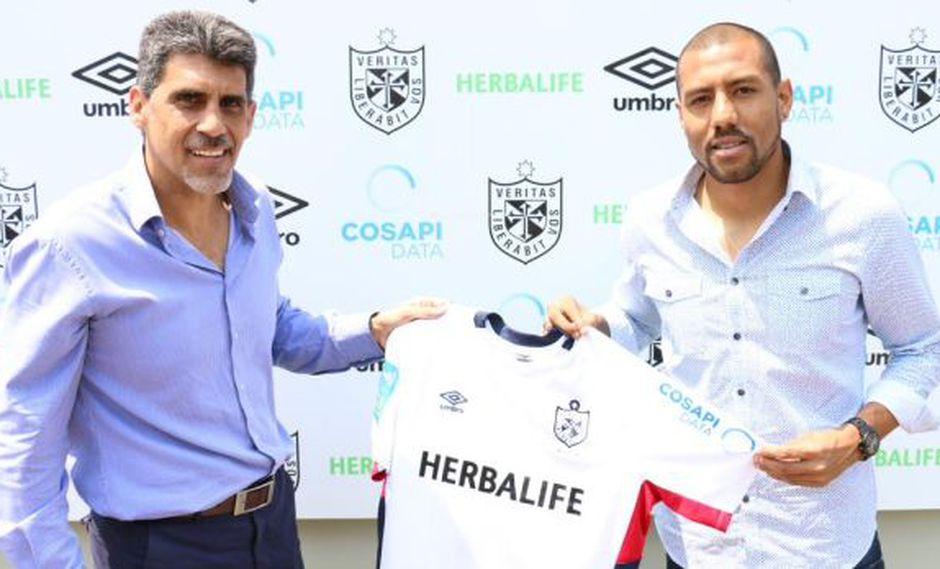 Luis Ramírez firmó por Universidad San Martín hasta fin de año