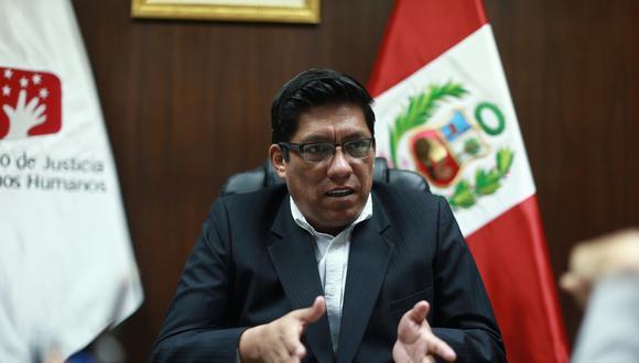 Vicente Zeballos dijo que presentarán sus descargos ante el Jurado Electoral Especial en el plazo que corresponda Foto: USI)