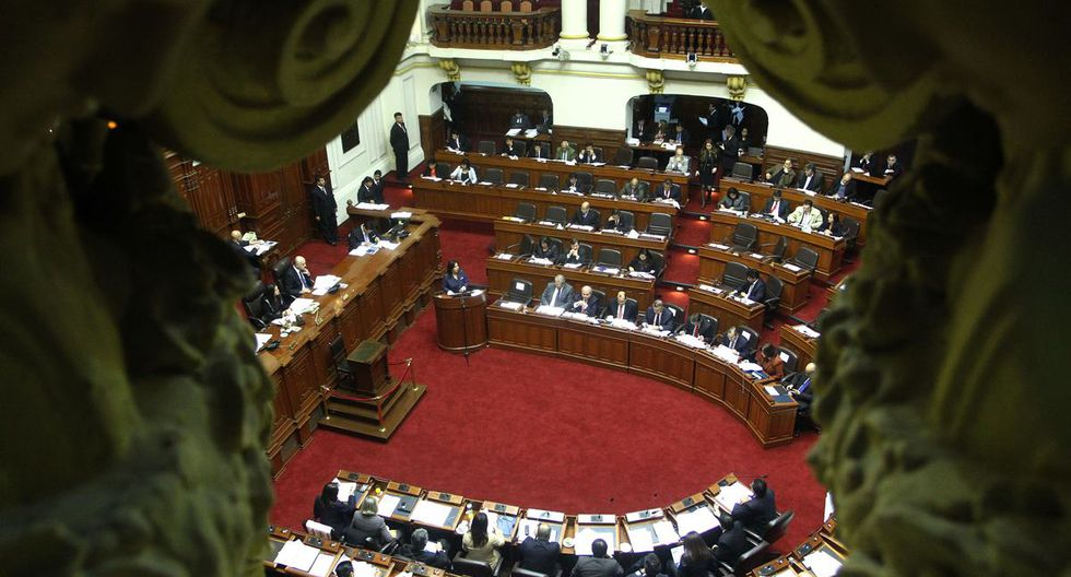 Congreso del Perú. (Foto: AFP PHOTO / PCM / HO)