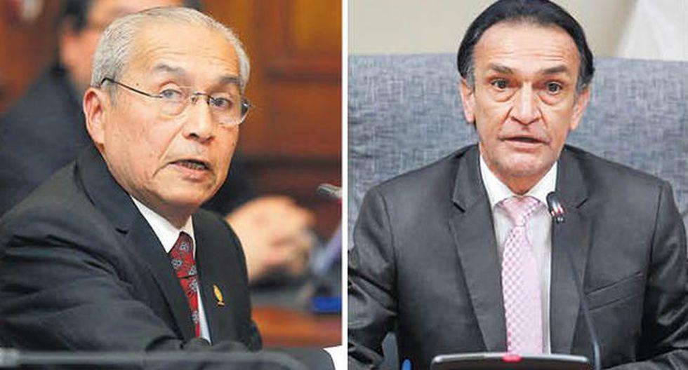 Informes piden la destitución del fiscal de la Nación, Pedro Chávarry, y del legislador Héctor Becerril. (Fotos: El Comercio)