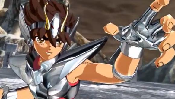 Caballeros del Zodíaco: lucha entre Pegaso y Siegfried [VIDEO]