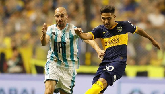 Boca Juniors cae frente a Racing Club en la Bombonera | Foto: Boca