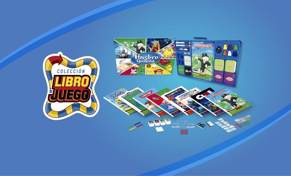 ¡Ahora podrás llevar tus juegos de mesa a donde tú quieras! La colección Libro Juego Hasbro trae 8 de los más clásicos juegos de mesa en versión transportable. Adquiérelos desde este jueves 6 de septiembre en tu quiosco más cercano y en tiendas autorizadas.