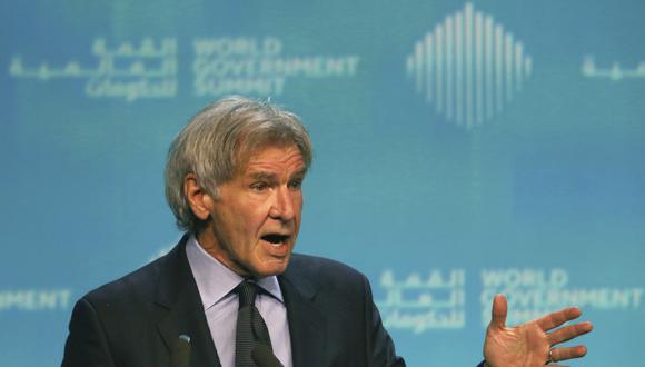 Harrison Ford se pronunció en contra de Trump. (Foto: AP)