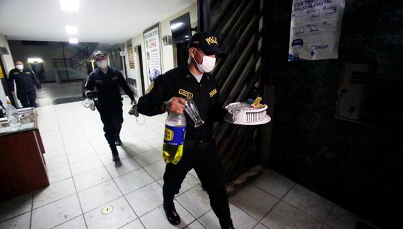 Ministro del Interior informó que el comisario de Canto Rey y los otros policías intervenidos fueron separados de sus cargos mientras dure investigación. (Foto: César Grados)