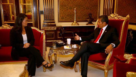 Ollanta Humala y Keiko Fujimori disputaron la Presidencia en la segunda vuelta de las elecciones de 2011. El nacionalista resultó ganador. Hoy ambos afrontan investigaciones por el Caso Lava Jato. (Foto: Presidencia de la República)