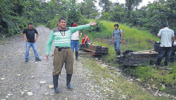 Vigilan frontera de Cenepa para evitar el tráfico de minerales