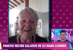 Pancho Rodríguez se emocionó con el saludo de cumpleaños de sus padres