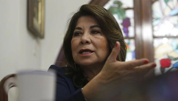 Martha Chávez señaló que se debe respetar el debido proceso para el excongresista Víctor Albrecht. (Foto: GEC)