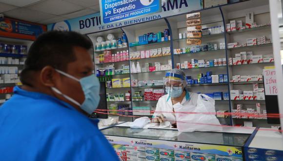 El decreto supremo publicado este viernes y las medidas que contiene sobre los medicamentos para tratar el COVID-19 entrará en vigencia a partir del sábado 8 de agosto. (Foto: Lino Chipana / GEC)