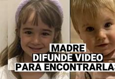 Madre de niñas desaparecidas en Tenerife difunde video de pequeñas para su identificación