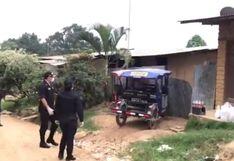 Coronavirus en Perú: Policías hacen colecta para llevar alimentos a familias en cuarentena en San Martín