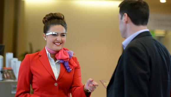 Google Glass y Smartwatch usados para check-in de pasajeros