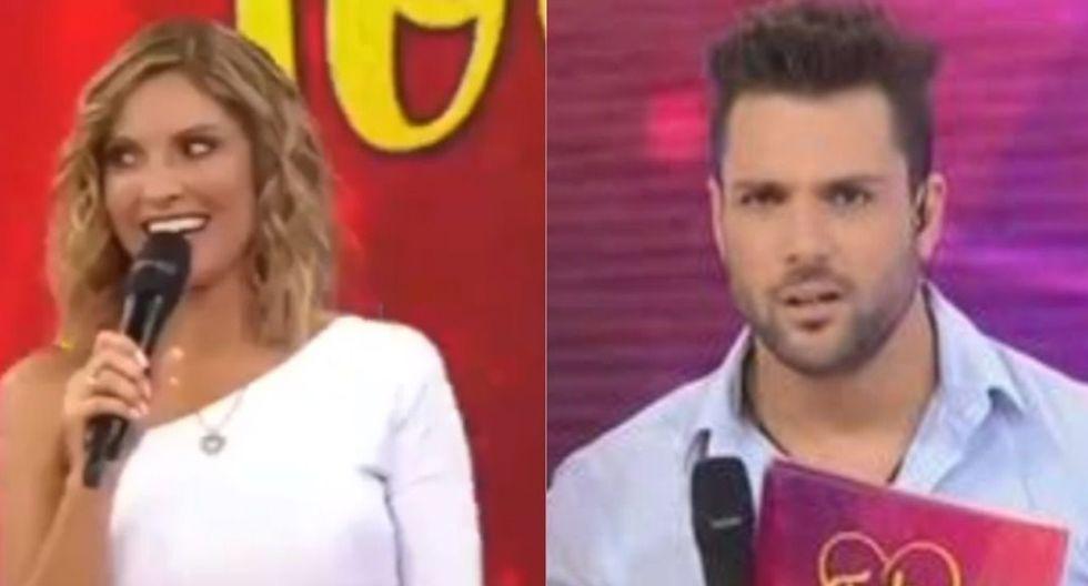 """Nicola Porcella y Karina Rivera en """"Todo por amor"""", el programa de Latina que se estrenó el lunes 17 de febrero."""