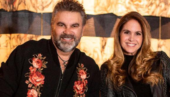 Lucero y Mijares ofrecieron un concierto virtual el pasado sábado 22 de mayo. (Foto: Instagram)