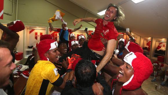 Ricardo Gareca fue presentado el 8 de marzo de 2015. Bajo su mando, la selección peruana logró, entre otras cosas, una histórica clasificación al Mundial de Rusia. (Foto: FPF)