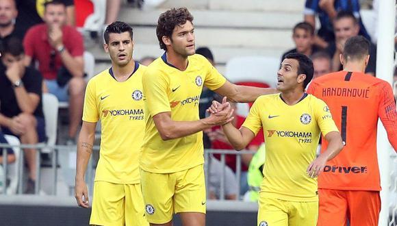 Chelsea choca ante Inter de Milán en su cotejo debut esta tarde (1:05 pm. EN VIVO ONLINE vía DirecTV) por la International Champions Cup. (Foto: AFP)