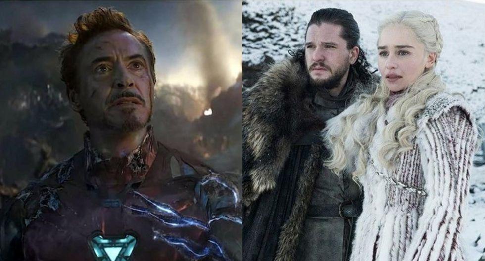 """""""Avengers: Endgame"""" y """"Game of Thrones"""" figuran entre las películas y series más buscadas del año. (Foto: Marvel Studios/HBO)"""