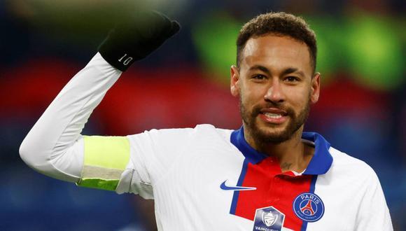 Compañero de Neymar en PSG dio detalles del estado del brasileño previo al partido contra Barcelona en Champions League (Foto: Reuters)