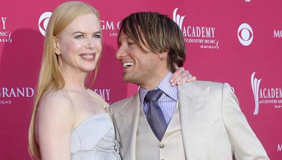 Nicole Kidman recordó su primera cita con Keith Urban. (AFP).
