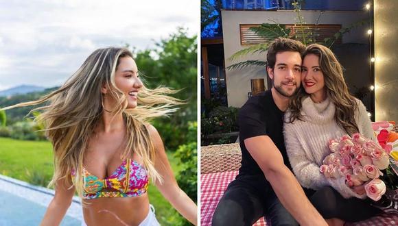 Daniella Álvarez y Lenard Vanderaa tuvieron una larga relación que habría acabado hace unos meses. (Foto: Instagram @daniellaalvareztv @lenard.vanderaa)