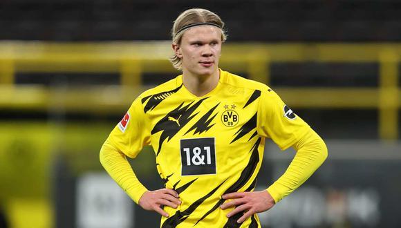 Erling Haaland espera ser protagonista en el duelo Manchester City vs Borussia Dortmund por Champions League | Foto: EFE