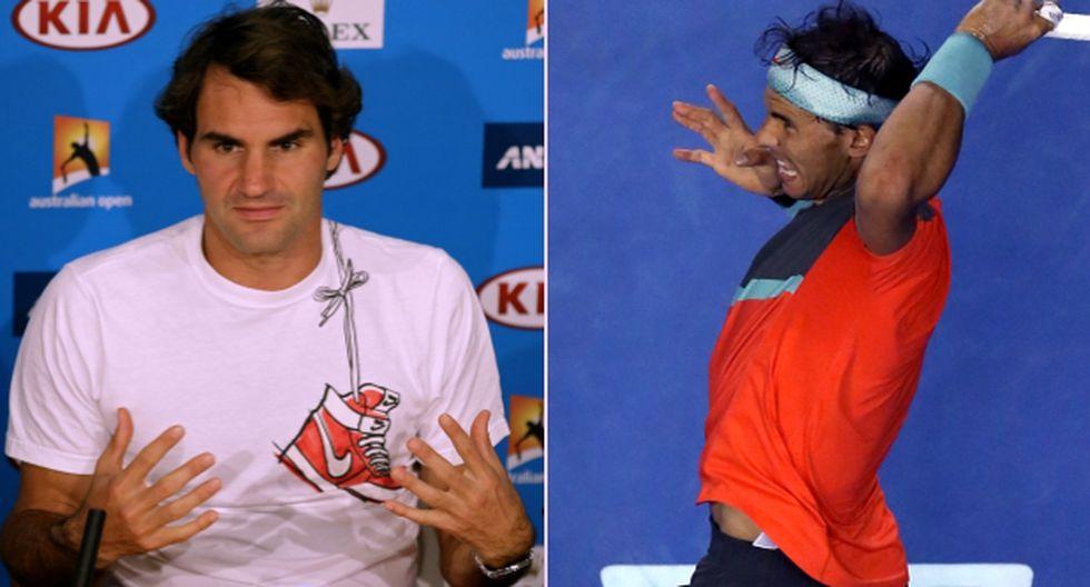 Federer se quejó de los gritos de Nadal en Abierto de Australia