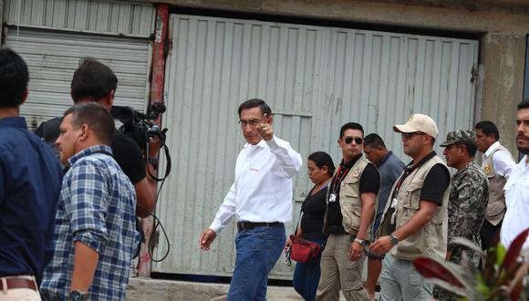 Martín Vizcarra anunció el viernes su candidatura al Congreso. (FOTO: ALESSANDRO CURRARINO/EL COMERCIO)
