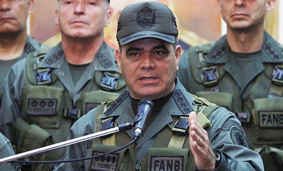 Vladimir Padrino López, ministro de Defensa de Venezuela. (Foto: EFE)