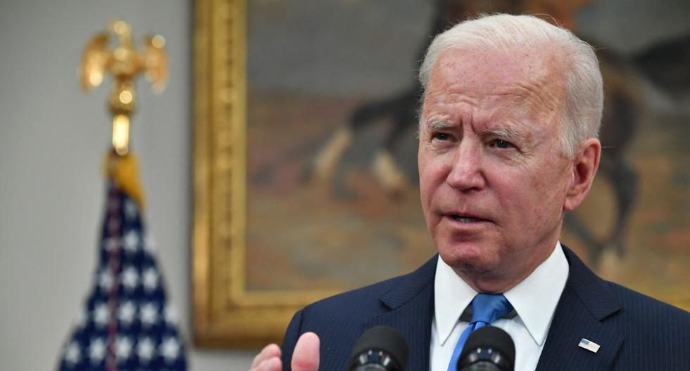 Biden does not consider Israel's reaction to the Palestinians excessive, which leaves 87 dead in Gaza