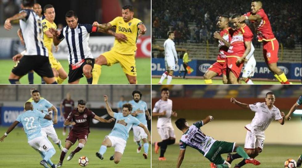 Este 2018, fueron 8 clubes peruanos los que participaron en la Copa Libertadores y Copa Sudamericana. Solo Sport Huancayo superó su llave.