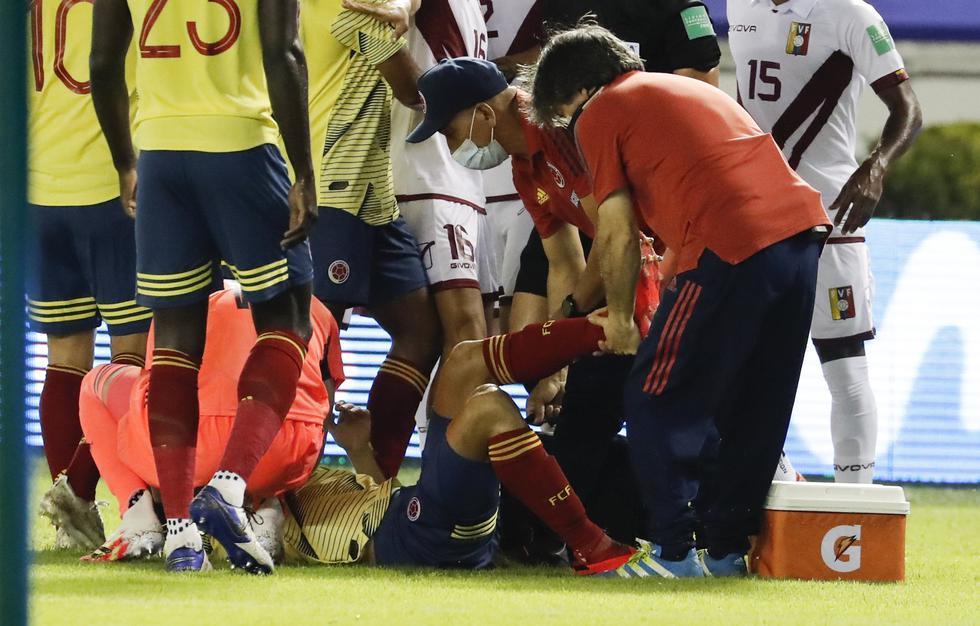 Santiago Arias sufrió terrible lesión en el duelo frente a Venezuela