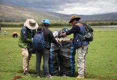 Junín: retiran más de 750 kilos de basura plástica en humedales de Chocón