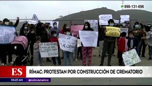 Rímac: vecinos se oponen a construcción de crematorio
