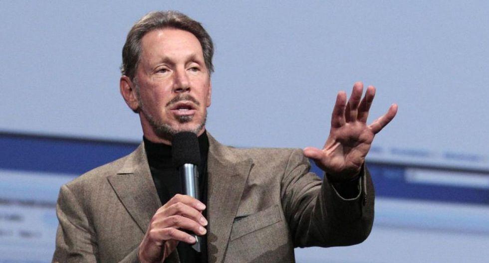 Larry Ellison, cofundador de Oracle, se ubicó en el séptimo puesto. Con una fortuna de US$62.500 millones, escaló tres puestos.