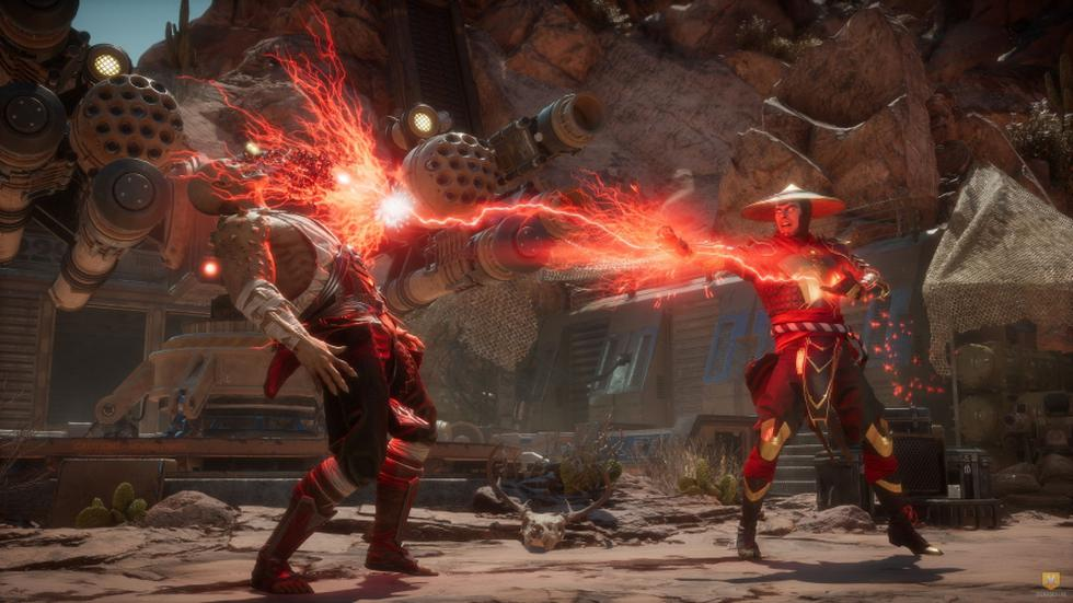 Mortal Kombat. (Difusión)