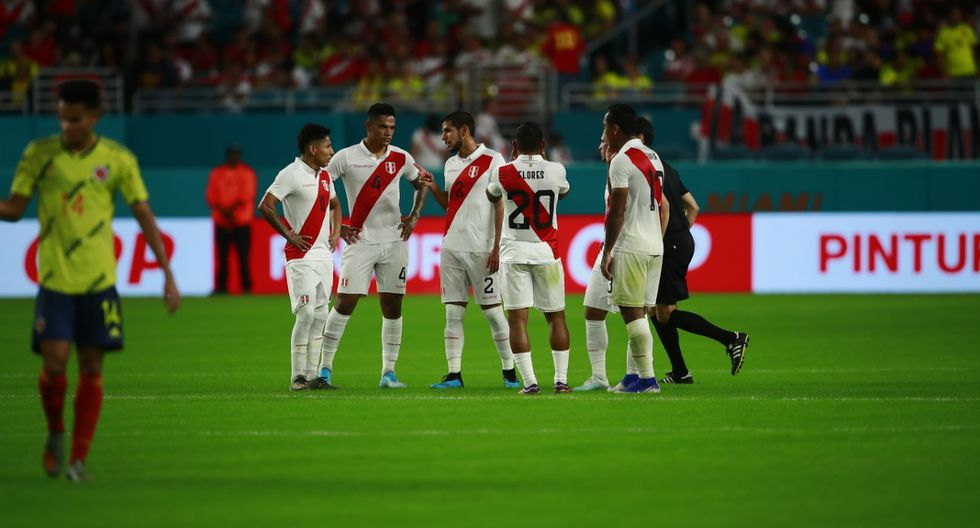 0-1 vs. Colombia: Perú despidió el año el último viernes con una caída ante Colombia en Miami. A pesar de tener pasajes de buen fútbol, la Bicolor no pudo ante los 'cafeteros'. (Foto: GEC)