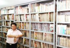 El peruano detrás de una de las colecciones de cómics en español más grandes de Latinoamérica