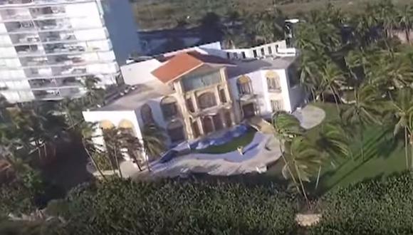 La mansión de Acapulco que Luis Miguel la usó para dar grandes fiestas con sus amigos (Foto: Netflix)