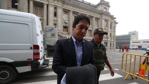 José Miguel Castro cumple con arresto domiciliario. (Foto: Alessandro Currarino/GEC)