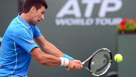 Djokovic campeón de Indian Wells: derrotó a Roger Federer