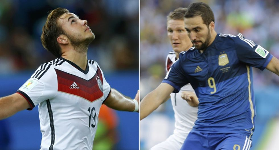 Alemania vs. Argentina: así alinearían ambos países