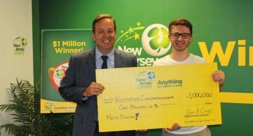 Insólita historia fue publicada en Internet y se viralizó rápidamente. (Foto: New Jersey Lottery)