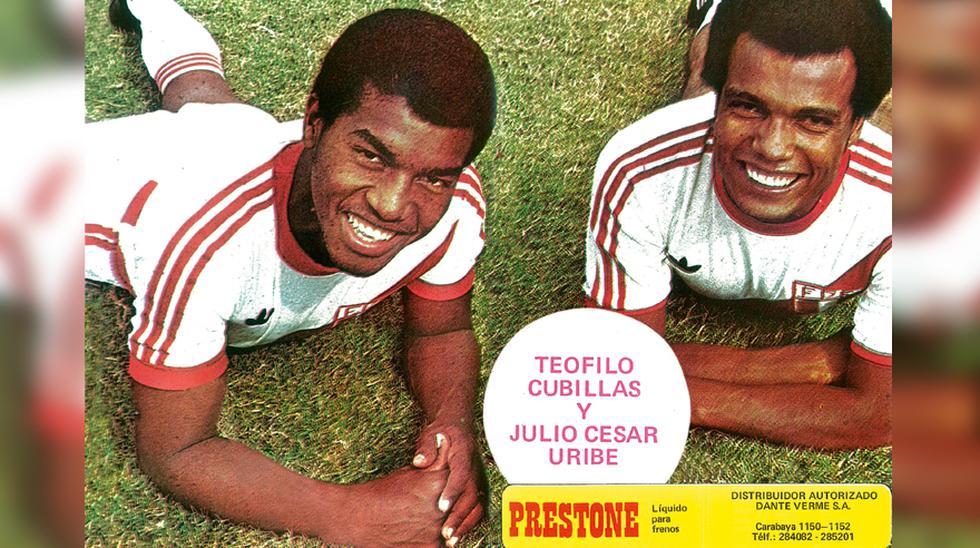 Uribe y Cubillas, cuando todo era felicidad.