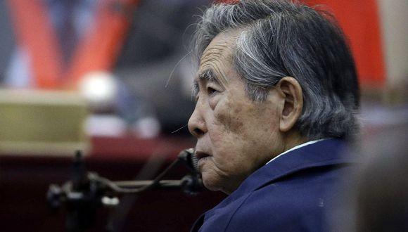 El ex presidente Alberto Fujimori salió libre tras recibir un indulto humanitario el 24 de diciembre del 2017 de manos de PPK. (Foto: AP)