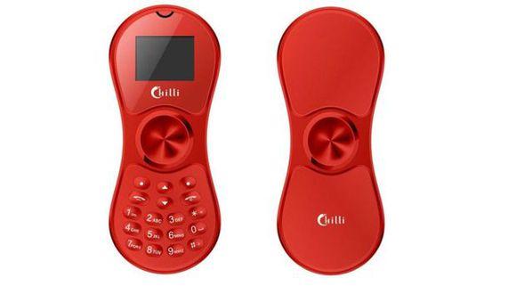 El Chilli Phone es una amalgama entre el spinner y un teléfono móvil básico. (Foto: Chilli)