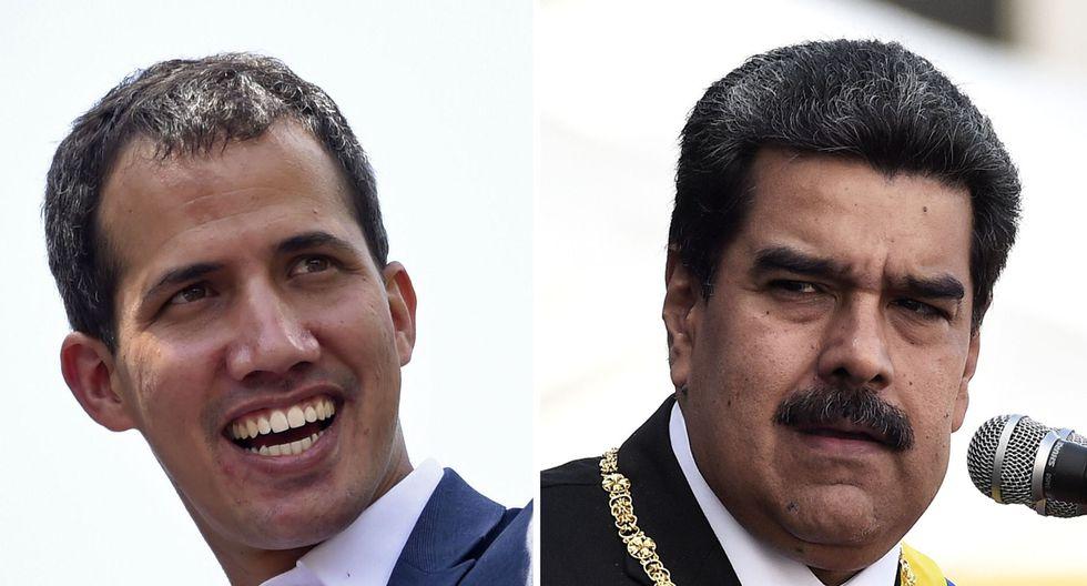 Hace un año, Juan Guaidó se autoproclamó presidente encargado de Venezuela ante miles de seguidres. (AFP).