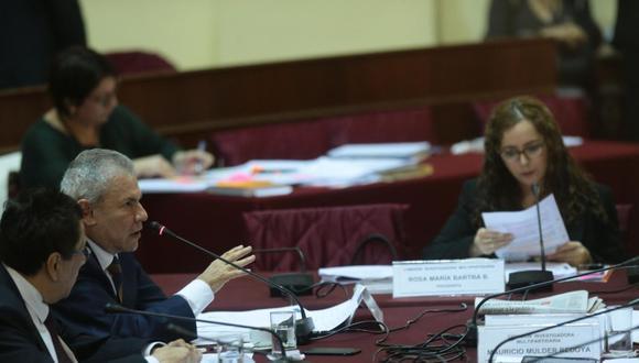 El 24 de mayo de 2018, el entonces alcalde de Lima Luis Castañeda Lossio se presentó ante la Comisión Lava Jato, que fue dirigida por Rosa Bartra, quien hoy es candidata de Solidaridad Nacional. (Foto: GEC)